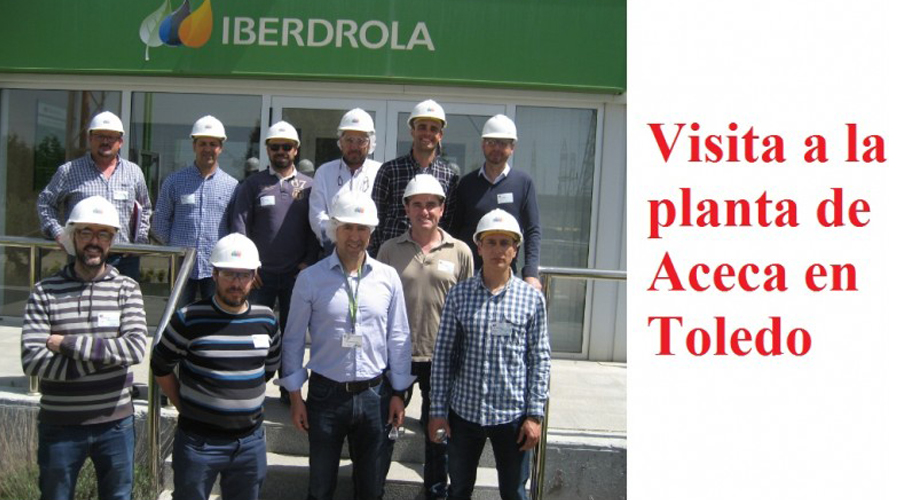 VISITA A LA CENTRAL ELÉCTRICA DE ACECA EN TOLEDO