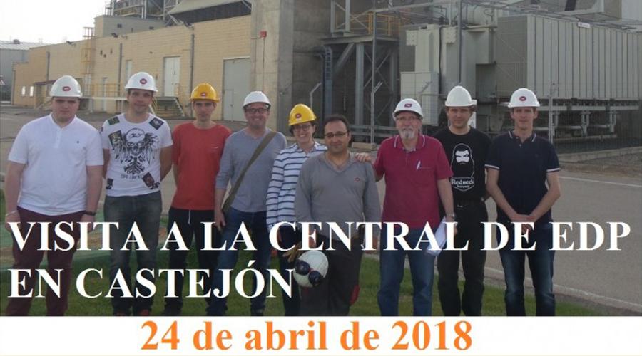 VISITA A LA CENTRAL ELÉCTRICA DE EDP EN CASTEJÓN