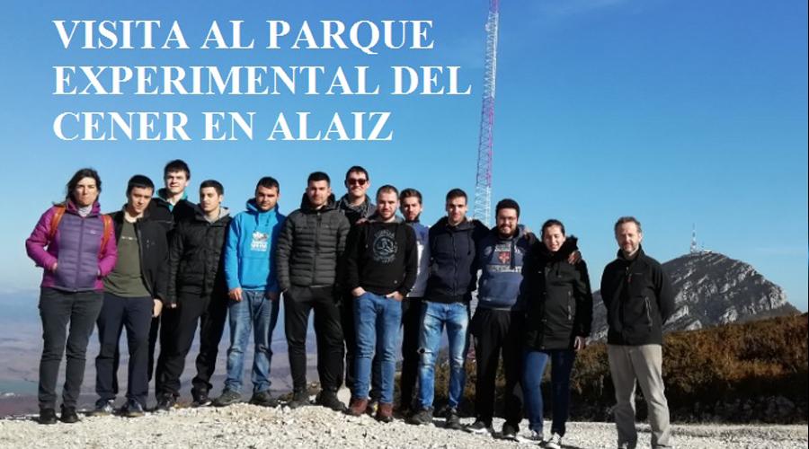 ALUMNADO DE RENOVABLES VISITA EL PARQUE EXPERIMENTAL DE CENER