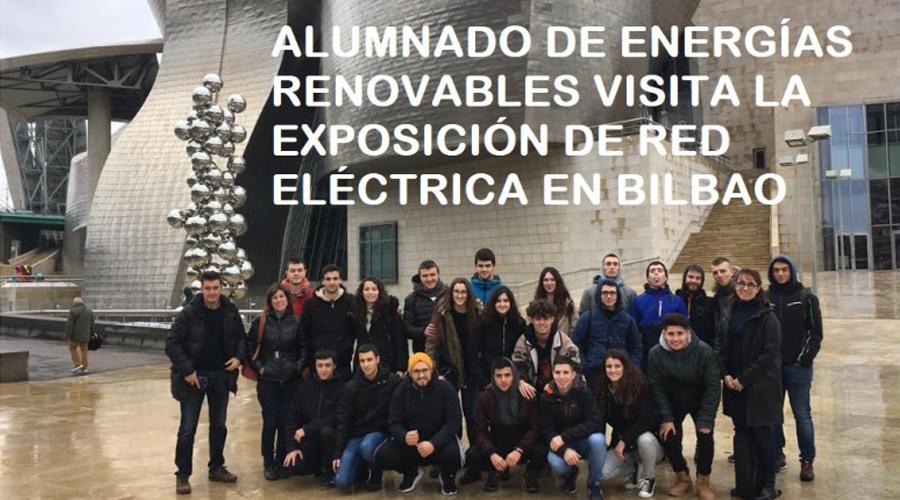 VISITA A LA EXPOSICIÓN DE RED ELÉCTRICA DE ESPAÑA