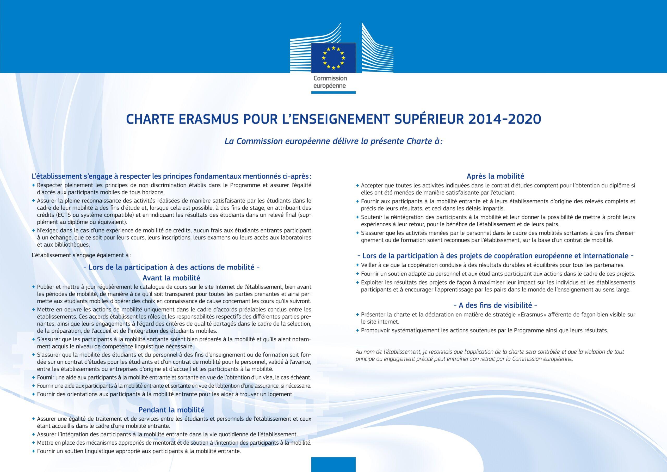 Carta Erasmus