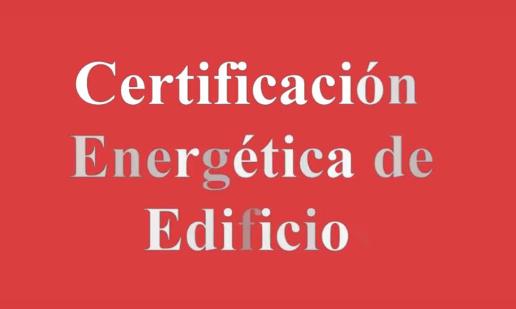 cenifer certificacion energetica de edificio