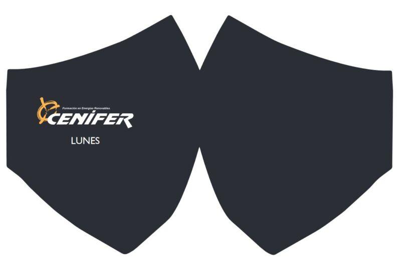 Cenifer-Curso 2020-2021 Cumplimiento normas Covid mascarilla negra lunes