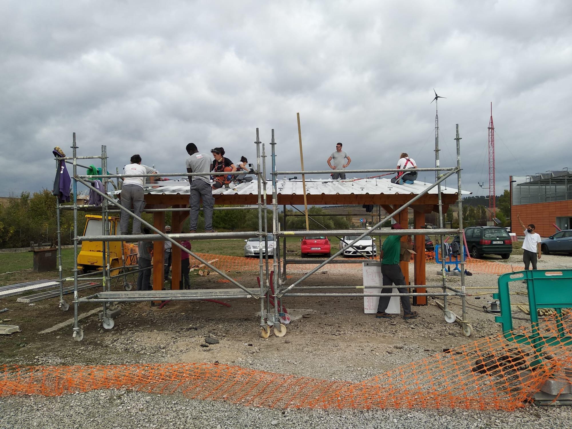 Cenifer-Curso Construcción de pérgola solar-fotovoltaica- oct 2020.