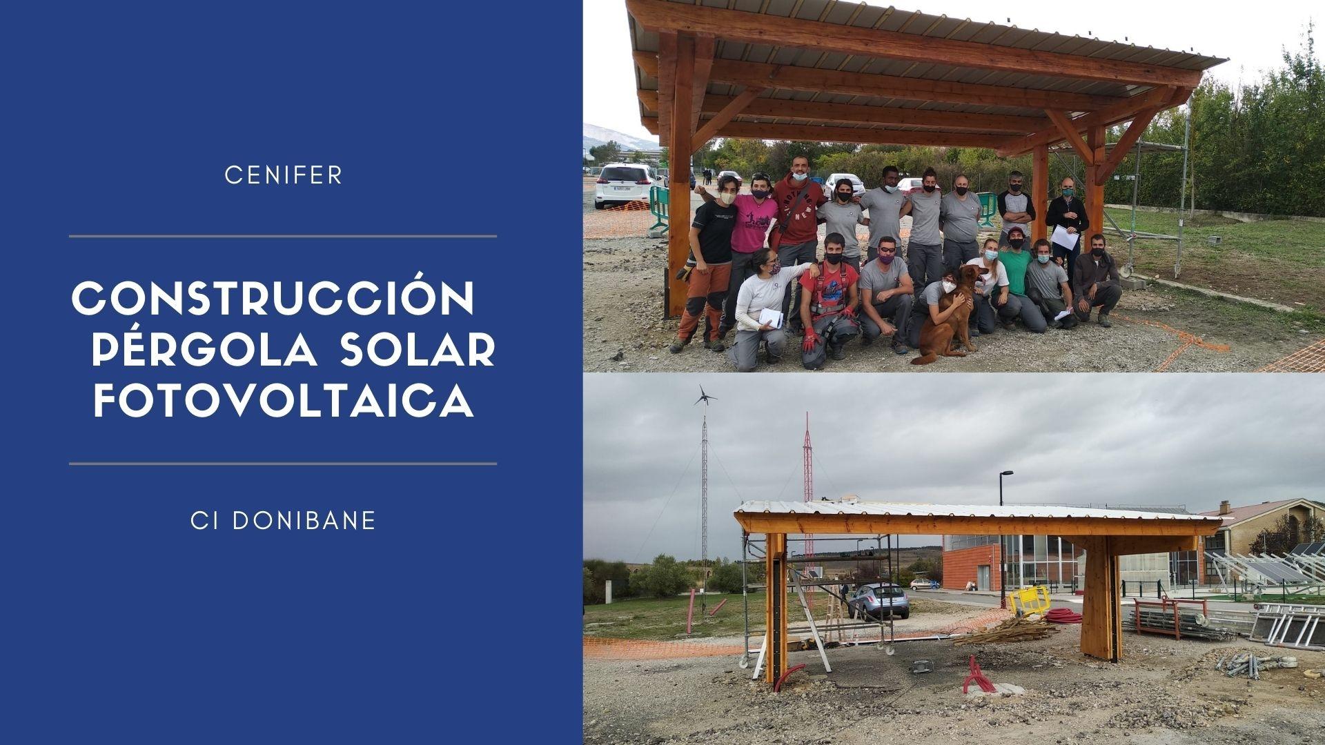 Cenifer-Curso Construcción de pérgola solar-fotovoltaica recarga vehiculos electricos octubre 2020