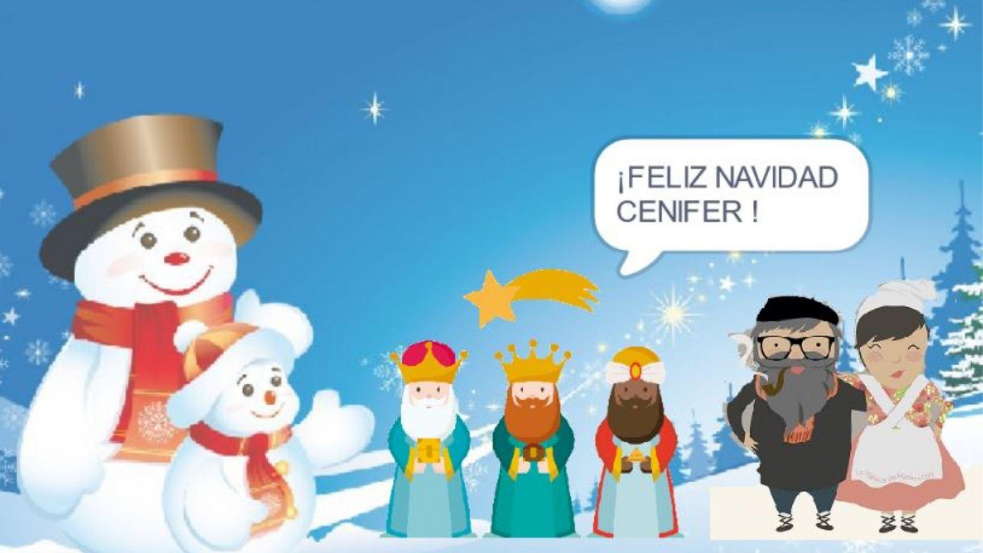 Cenifer Feliz Navidad 2020