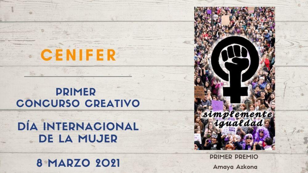 Cenifer Concurso diseño igualdad 8M2021